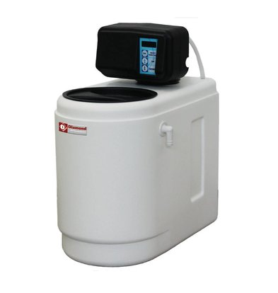 Diamond Enthärter PRO | Geschirrspüler, Eismaschine | Chrono / Volume Meter | Monoblock - 500 Liter