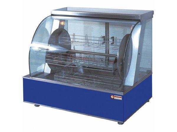 Diamond Hähnchengrill Elektro Tabletop - Drehende mit vier Körben - 940x590x (h) 790mm - 5,4 kW