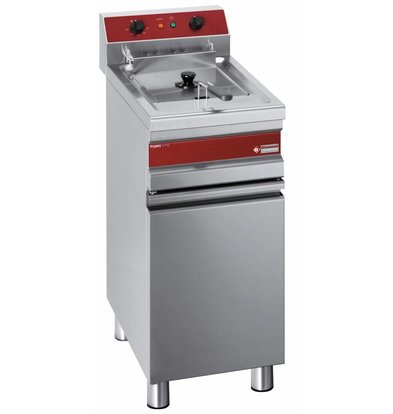 Diamond fryer | electric | 14 Liter | 400-230V | 9KW | With Substructure | 375x655x (h) 845/985