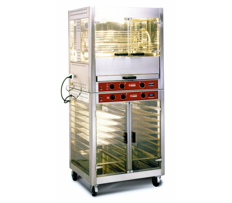 Diamond Chicken Grill Electric - 8KW - 5 Rotating baskets - 25 chickens - 850x700x (H) 940mm
