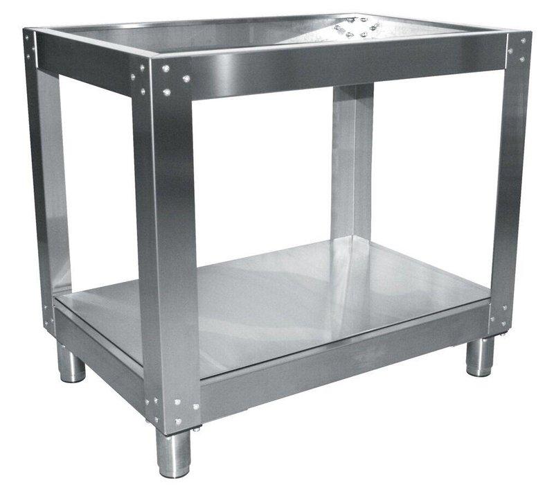 Diamond Onderstel Oven RVS | Voor EFP/44R Oven 2x 4 Pizza's | 980x830x860(h)mm
