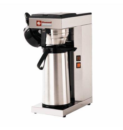 Diamond Koffiemachine met Thermoskan - 2,5 Liter - 2,2KW - 205x360x(h)545mm