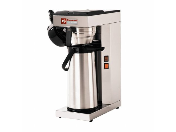 Diamond Coffee machine with thermos - 2.5 Liter - 2,2KW - 205x360x (H) 545mm