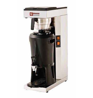 Diamond Kaffeemaschine mit Hahn-Digital-- Automatische Refill - 2,2 kW - 2,5 Liter