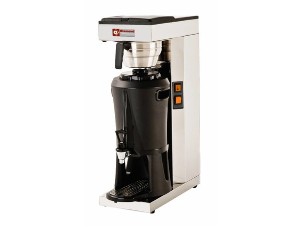 Diamond Coffee maker with Faucet Digital - Automatic Refill - 2.2 kW - 2.5 liters