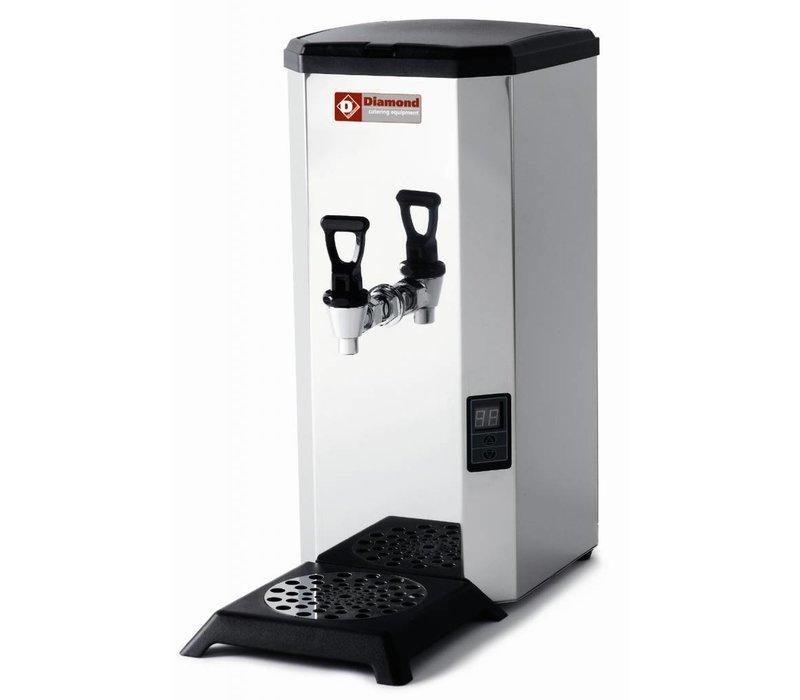 Diamond Tafelmodel Waterkoker met Dienstkraan | Vaste water aansluiting | 18 Liter