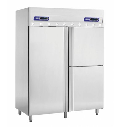 Diamond Cool and Viskoelkast 1400 Liter - 3 Doors 2 / 1GN + 1 / 1GN - 150x80x204cm