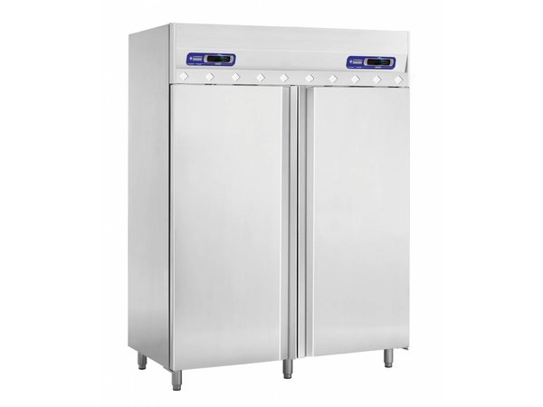 Diamond Kühlschrank und Vrieskast- 2 x 700 Liter - 2 Türen - 150x80x (h) 204cm