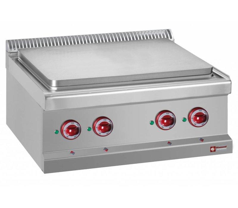 Diamond Electric stove SS | 4 zones Adjustable | 400V / 9kW | 700x700x250 / 320 (h) mm