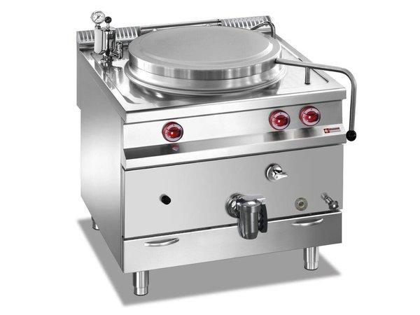 Diamond Gas Kochkessel SS | 150 Liter | Direktheizung | 800x900x850 / 920 (h) mm