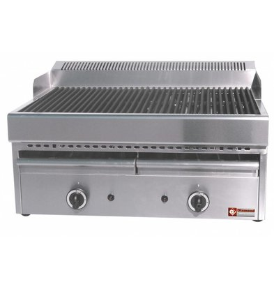 Diamond Dampf-Gas-Grill Cast Iron Rooster - Tabletop - 77x63x (h) 43 cm