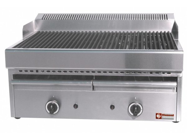 Diamond Steam Gas Grill Cast Iron Rooster - Tabletop - 77x63x (h) 43cm