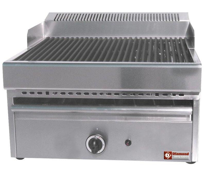 Diamond Steam Gas Grill - grill Cast iron - Tabletop - 330x470mm - 41x63x (h) 43cm