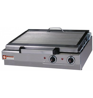 Diamond Steam Electric Tabletop Grill - 600x340mm - 70x50 (h) 18cm