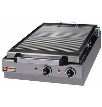 Diamond Steam Electric Tabletop Grill - 410x340mm - 49x50x (h) 18cm