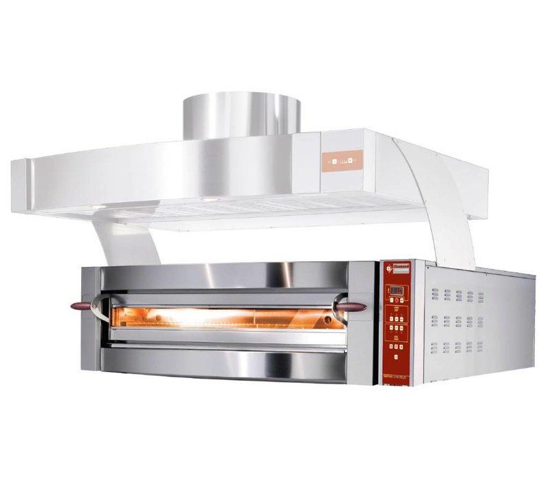 Diamond Pizza Oven | 6 Pizza's Ø35cm | 400V | 7,8kW | 1190x1460x(H)440mm