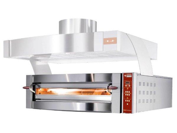 Diamond Pizzaofen | 9 Pizzen Ø35cm | 400V | 11,7kW | 1550x1460x (H) 440mm