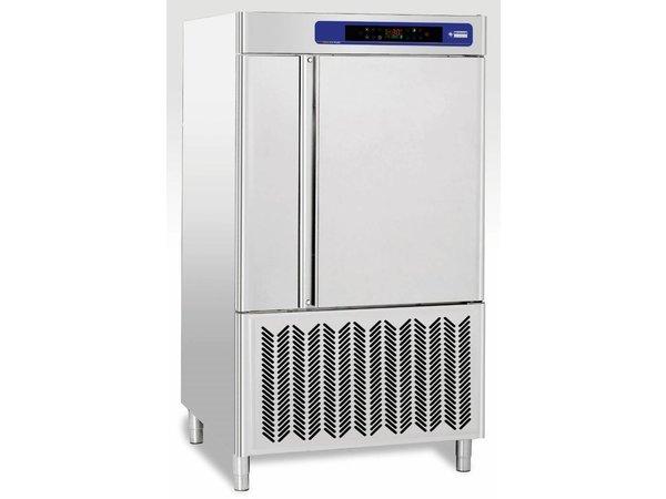 Diamond Quick Freezer Stainless Steel | 10x GN2 / 1 20x 600x400mm | 400V / 3,5kW | 1050x1080x1900 (h) mm