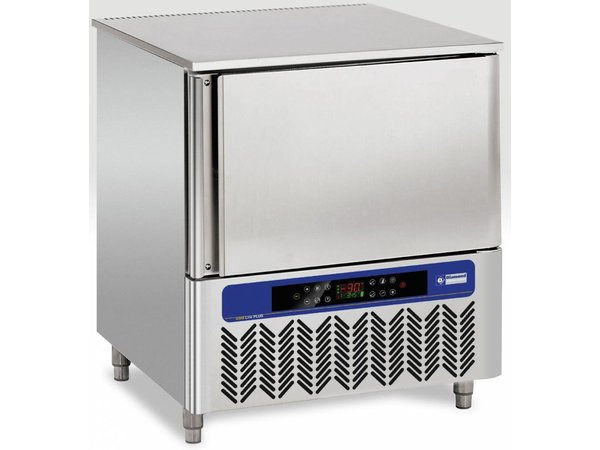 Diamond Snelvriezer RVS | 5x GN1/1 of 5x 600x400mm | 230V/850W | 784x800x900(h)mm