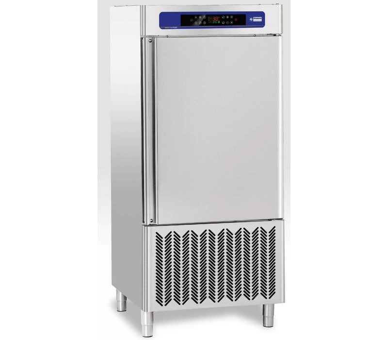 Diamond Quick Freezer Stainless Steel | 10x GN1 / 1 and 10x 600x400mm | 400V / 2,3kW | 800x900x1800 (h) mm