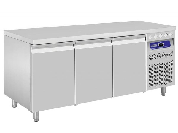 Diamond Cool Workbench - RVS - 3 door - 175,5x70x (h) 85 / 90cm - European