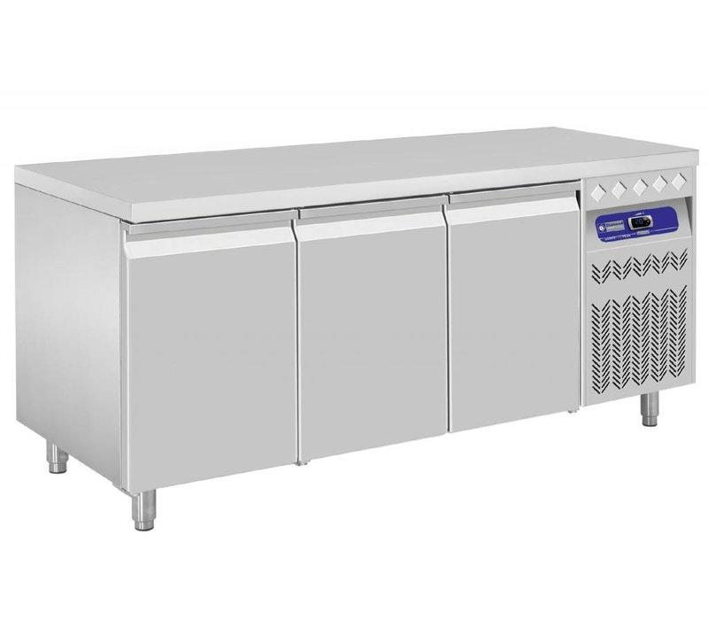 Diamond Coole Workbench - RVS - 3 Türen - 175,5x70x (h) 85 / 90cm - Europäische