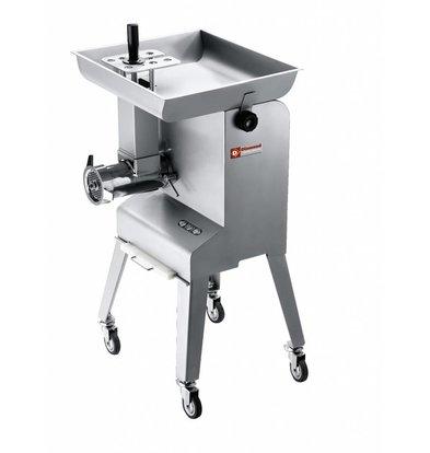 Diamond Meat grinder with verijdbaar chassis - 600kg p / h - 2200W