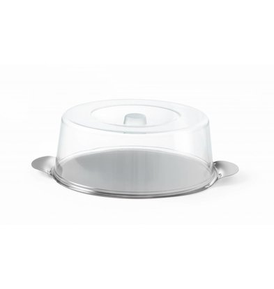 Hendi Cake dome with stainless steel Plateau | Ø300x (H) 110mm