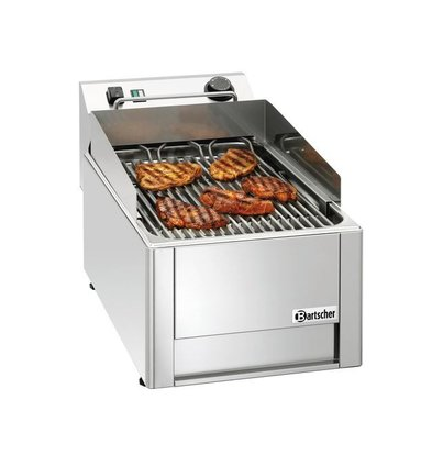 Bartscher Water Grill 40 | Fast Warm Up Time | 400V | 320x630x (H) 320mm