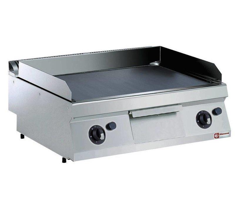 Diamond Kookplaat Gas RVS | Glad | Tafelmodel | 200°C tot 400°C | 800x700x250/320(h)mm
