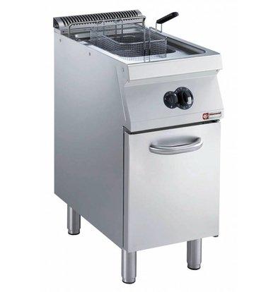 Diamond Gas Fryer | 15 Liter | Außen-Brenner | auf Kabinett | 400x700x (h) 850 / 920mm
