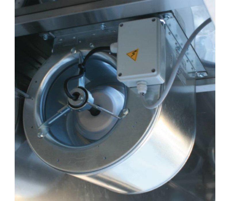 Diamond Afzuigkap Compleet met Motor, Verlichting - 900x(h)460mm ...