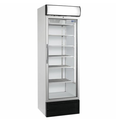 Diamond Vitrine freezer with lightbox - 500 liters - 680x655x (h) 2090mm