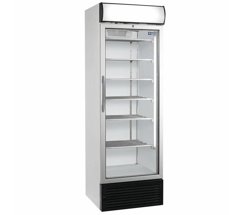 Diamond Freezer Vitrine mit Licht-Box - 500 Liter - 680x655x (h) 2090mm