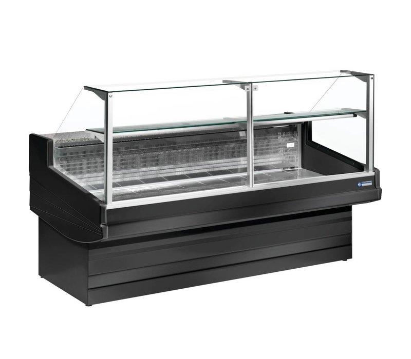 Diamond Zähler Schwarz Elegance Plus-Law Glass - 1040x (h) 1300mm in 4 Breiten