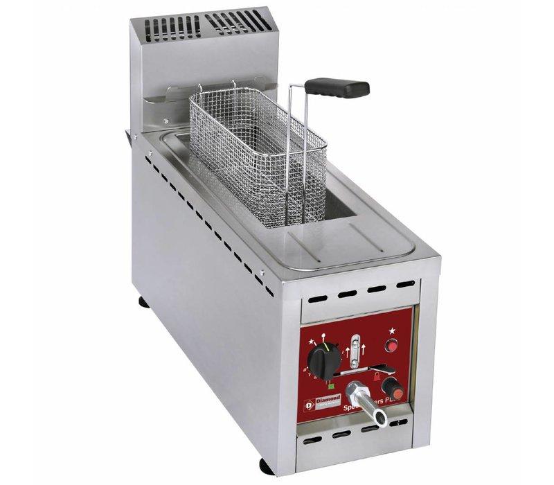 Diamond Fryer Gas 8 Liter - Extra Thin - 250x700x (h) 500mm