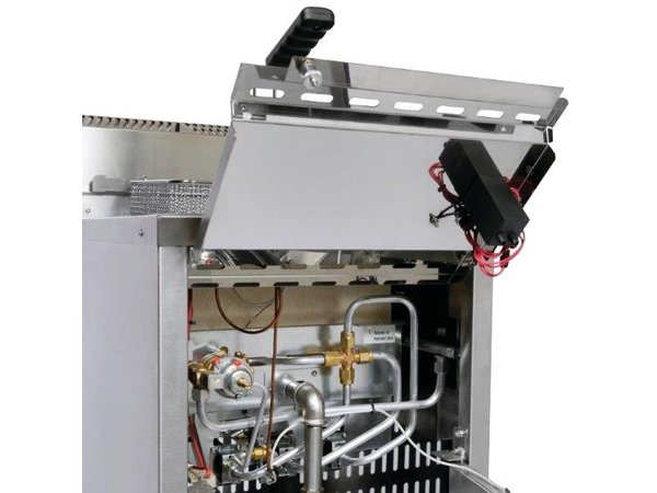 Diamond Gas Friteuse 16 Liter - Geschwindigkeit Fryer - 400x600x (h) 1055mm