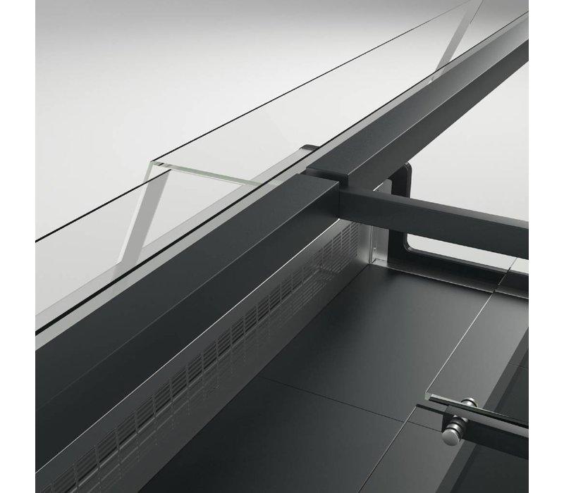 Diamond Zähler Metrika Line Black - 890x (h) 1182mm in sechs Breiten