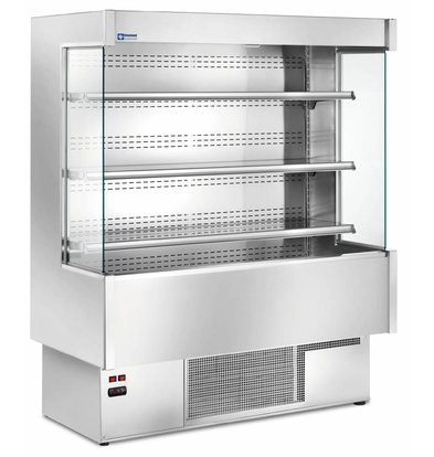 Diamond Wall Furniture Chilled 4 Levels Fully Stainless Steel - Choice of 4 Widths