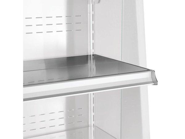 Diamond Schrankwand gekühlt vier Ebene 763x (h) 2015mm komplett aus rostfreiem Stahl - erhältlich in 4 Breiten