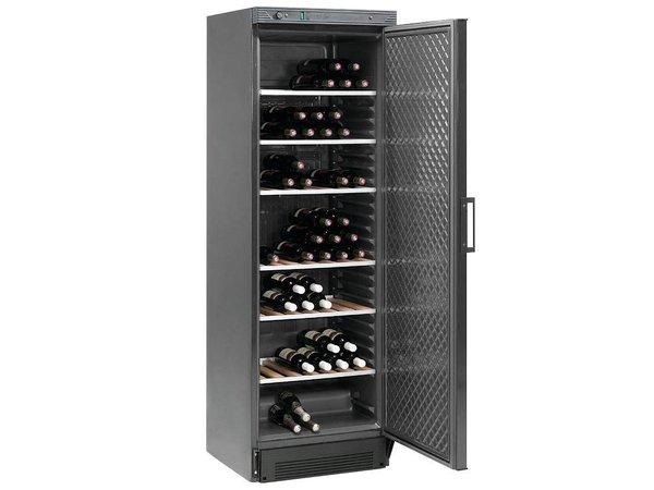 Diamond Wein Kühlschrank 380 Liter - Glastür - Schwarz - 595x595x (h) 1940mm