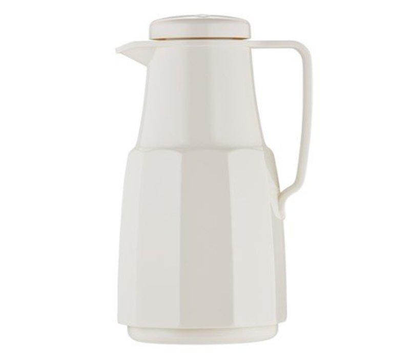 Emga Isolierte Plastic Weiß | Glasinnentopf | 1 Liter