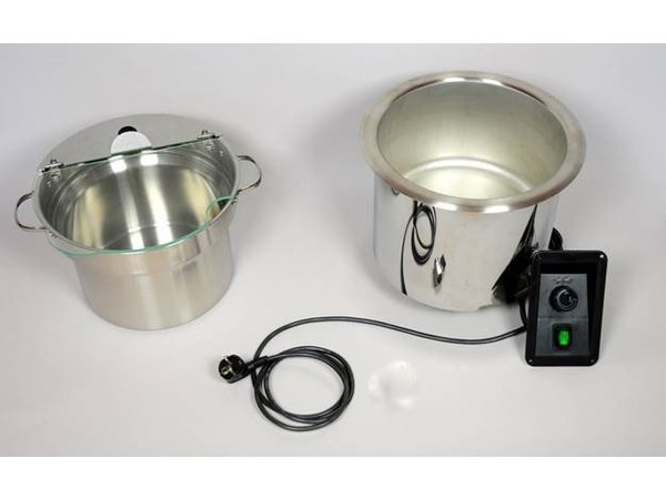 Mobile Containing Nun Suppe Edelstahl Einbau   Mobil enthalten   Inkl. Pan 9 Liter   400W