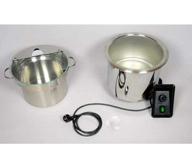 Mobile Containing Well soup stainless steel Recessed | Mobile Containing | Incl. Pan 9 liters | 400W