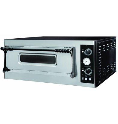 Combisteel Elektro-Ofen Pizza - Pizza 32 cm - 4 Stück - 975x924x (h) 413mm