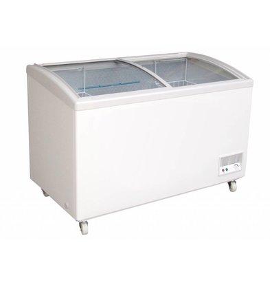 Combisteel Ice Conservator Glass Sliding Cover - 328 Liter - 1199x665x (h) 865cm