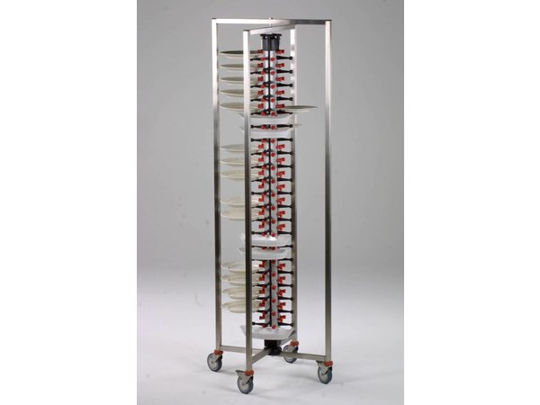 Combisteel Plattengestellwagen Collapsible - 84 Plates - 480x480x (h) 1890mm