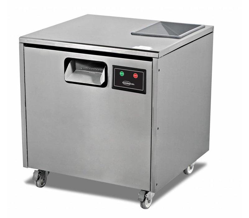 Combisteel Bestekpoleermachine - 7000 Besteckteile - 660x650x (h) 700mm