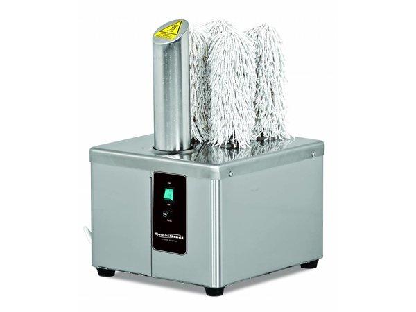 Combisteel Glazenpoleermachine - 300-360 Gläser - 0,37kW