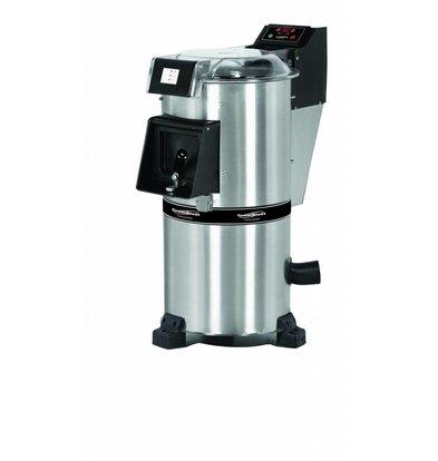 Combisteel Aardappelschilmachine - 20kg per uur - 900rpm - 0,75kw